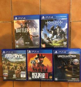 5 дисков для PS4 СРАЗУ❗️