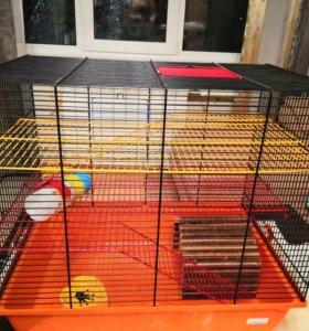 Клетка для крысы, хомячка