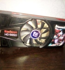 Сpoчно видеокарта powercolor radeon hd 6850 1gb