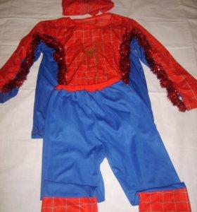 новогодний костюм человек паук.