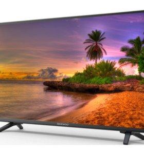 Новый телевизор Daewoo 83см