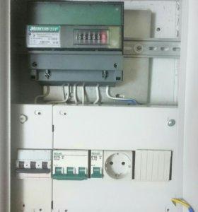 Щиток электрический 3ф (13кВт) в комплекте