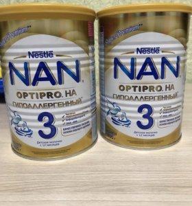 Детское молочко ГА NAN OPTIPRO 3