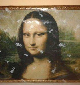 Картина  маслом  Мано Лиза