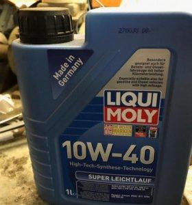 Масло моторное полусинтетическое luqui moly новое
