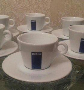 Чашки с блюдцем Lavazza