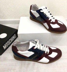 Мужские кроссовки кеды Moschino оригинал