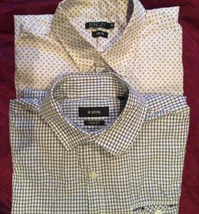 Рубашки с длинным рукавом . Цена за одну