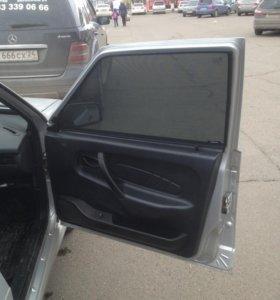 Съемные каркасные автошторки на ВАЗ 2114