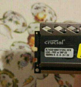 DDR3 8gb редкая Crucial Ballistix Tactical Tracer