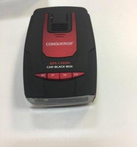 Видеорегистратор CONQUEROR GPS-1380H HD