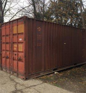 Железный контейнер