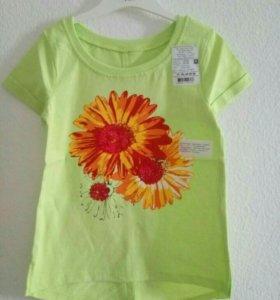 Новая футболка на девочку, Россия