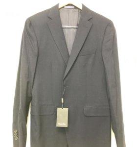 Пиджак мужской Massimo Dutti новый серый
