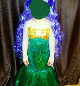 Новогодний костюм русалочки для девочки