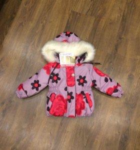 Новый зимний костюм на девочку