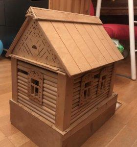 РАРИТЕТ! Сборный игрушечный дом