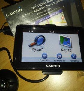 Навигатор Garmin nuvi 2495LT б/у в отл. состоянии