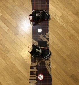 сноуборд комплект 164w