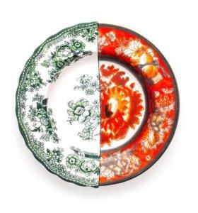 Seletti тарелка новая костяной фарфор