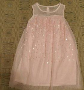 Платье нарядное 116