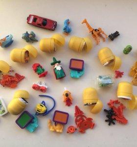 Игрушки из киндеров и другие