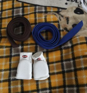 Перчатки и пояса для каратэ