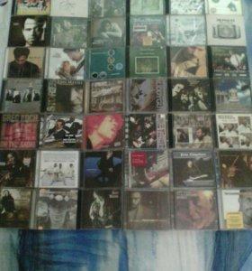 Коллекция дисков (зарубежная музыка). 40 шт.