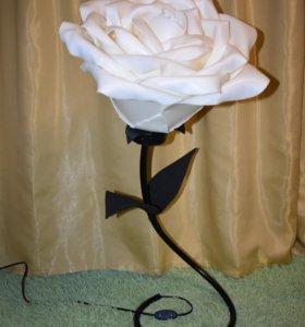 Роза из изалона