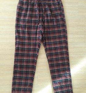 Штаны пижамные теплые мужские М