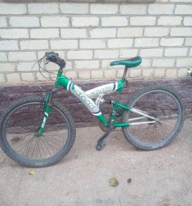 Продам скоростной велосипед полностью рабочий