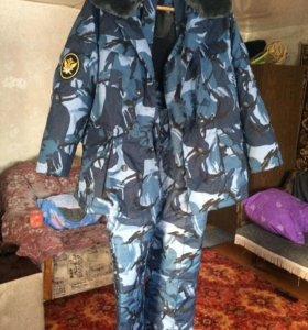 Комуфляжный костюм зимний
