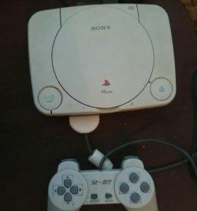 PlayStation1 +10 дисков.