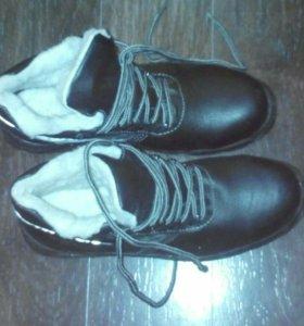Ботинки зимние 44-45р