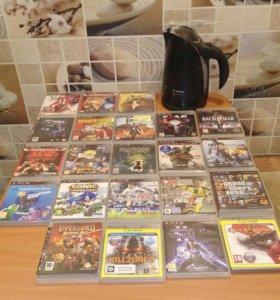 Диски для PS3(есть еще 16 дисков)