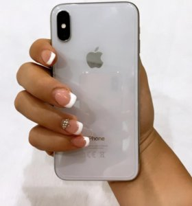 iPhone X 256gb серебристый