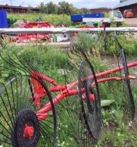 Грабли ворошилки 4-5 колесные тракторные