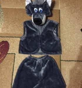 Новогодний костюм «волка»