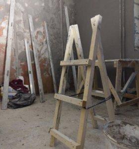 Машинная штукатурка стен, ручная штукатурка