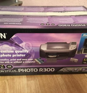 Фотопринтер Epson photo R300