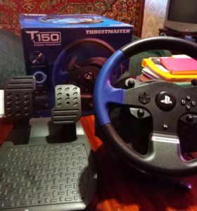 Руль на Thrustmaster 150