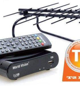 Цифровое ТВ, Т2