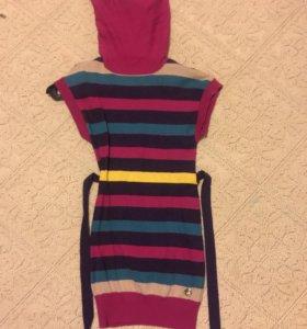 Платье теплое , с ангорой.