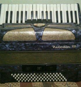 Аккордеон Lignatone Melodia III 3/4 Чехословакия