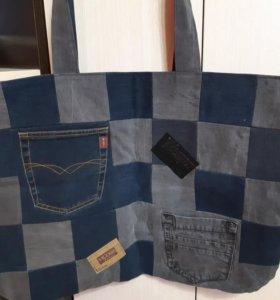 джинсова сумка