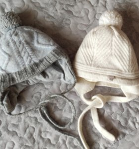 Зимняя шапка для мальчика или девочки 40-42