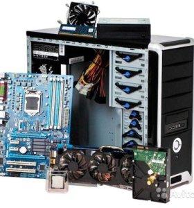 Ремонт жестких дисков, компьютеров, ноутбуков