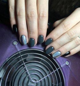 Маникюр+ покрытие гель лаком