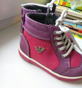 Ботинки Armani Оригинал 21 размер