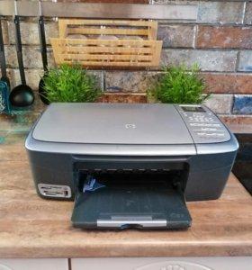 Принтер сканер копир 3в1 цветной hp